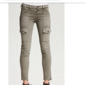 Joie Beverly Skinny Crop Cargo in Wicker